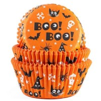 House of Marie Baking Cups Scary -50st-