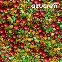 Azucren Sprinkle Mix Christmas Magic -90gr-