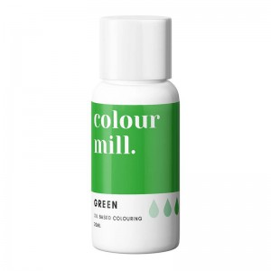 Colour Mill Chocolade Kleurstof Green -20ml-