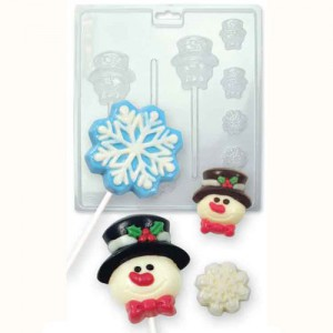 PME Chocolade Lolly Mal Winter Snow