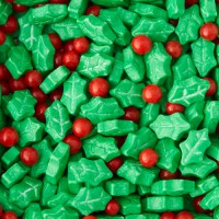 Wilton Sprinkles Holly -56gr-