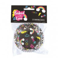 Baked with Love Folie Baking Cups LOL -25st-