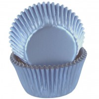 Baked with Love Folie Baking Cups Blauw -50st-