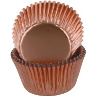 Baked with Love Folie Baking Cups Rose Goud -50st-