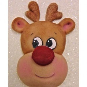 Karen Davies Reindeer Head Mould Large