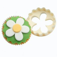 FMM Double Sided Cupcake Cutter Blossem & Scallop
