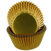 Baked with Love Folie Baking Cups Goud -50st-