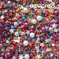 Azucren Sprinkle Mix Lollipop -90gr-