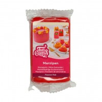 FunCakes Marsepein Rood Passion Red -250gr-
