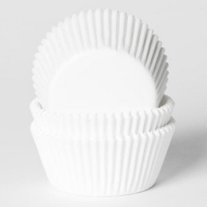 House of Marie Baking Cups Wit (50st)