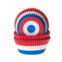 House of Marie Baking Cups Vlag Nederland -50st-
