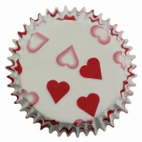 PME Baking Cups Petit Heart (60st)