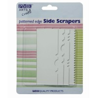 PME Pattern Edge Side Scraper (set van 4)