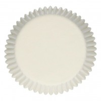 FunCakes Baking Cups Wit -48st-