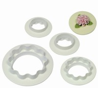 PME Round & Wavy Edge Cutter Set -4st-