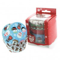 Baked with Love Baking Cups Christmas Friends -100st-