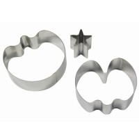 FMM Double Sided Cupcake Cutter Daisy & Circle
