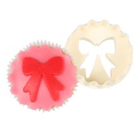FMM Double Sided Cupcake Cutter Bows & Scallop