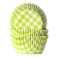 House of Marie Baking Cups Ruit Lime -50st-