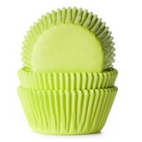 House of Marie Baking Cups Effen Lime -50st-
