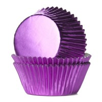 House of Marie Baking Cups Folie Roze (36st)