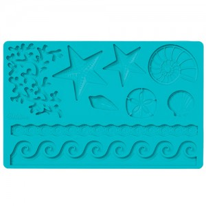 Wilton Sea Life Fondant & Gum Paste Mold (set van 4)