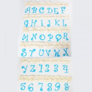 FMM Tappits Alphabet & Numbers Funky Set