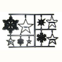 Patchwork Cutter Snowflakes and Stars