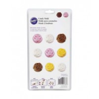Wilton Chocolate & Candy Mold Roses in Bloom