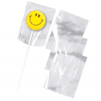 Wilton Lollipop Bags Clear -50st-