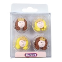 Culpitt Suikerdecoratie Little Princess set van 12