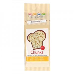 FunCakes Chocolade Chunks Wit -350gr-