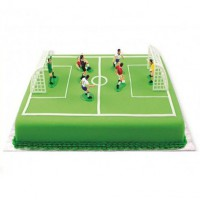 PME Taarttopper Voetbal Set -9st-