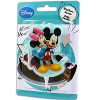 Cake Candle Mickey & Minnie Mouse