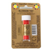 Sugarflair Dusting Colour Poppy Red