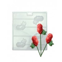 PME Chocolate & Candy Mold Roses