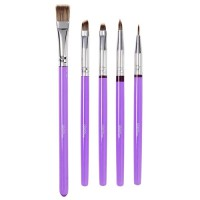 Wilton Decorating Brush Set -5st-