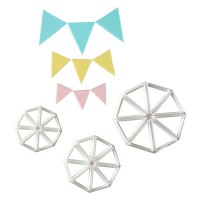 FMM Bunting Cutters Set -3st-