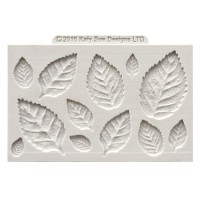 Katy Sue Mould Rose Leaves