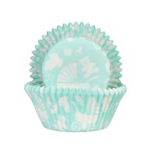 House of Marie Baking Cups Baby Mint -50st-