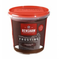 Renshaw Ready-To-Use Frosting Chocolate -400gr-