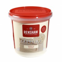 Renshaw Ready-To-Use Frosting Vanilla -400gr-