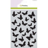Craft Emotions Stencil Butterlies