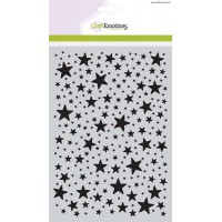 Craft Emotions Stencil Stars