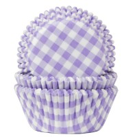 House of Marie Baking Cups Ruit Lila -50st-