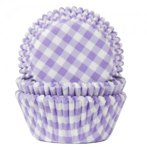 House of Marie Baking Cups Ruit Lila (50st)