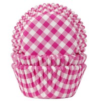 House of Marie Baking Cups Ruit Fuchsia Roze (50st)