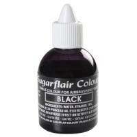 Sugarflair Airbrush Colouring Black (60ml)