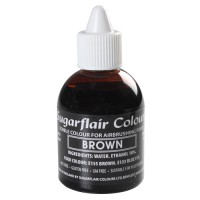 Sugarflair Airbrush Colouring Brown (60ml)
