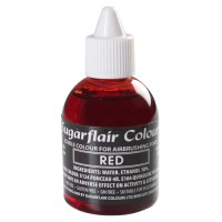 Sugarflair Airbrush Colouring Red (60ml)